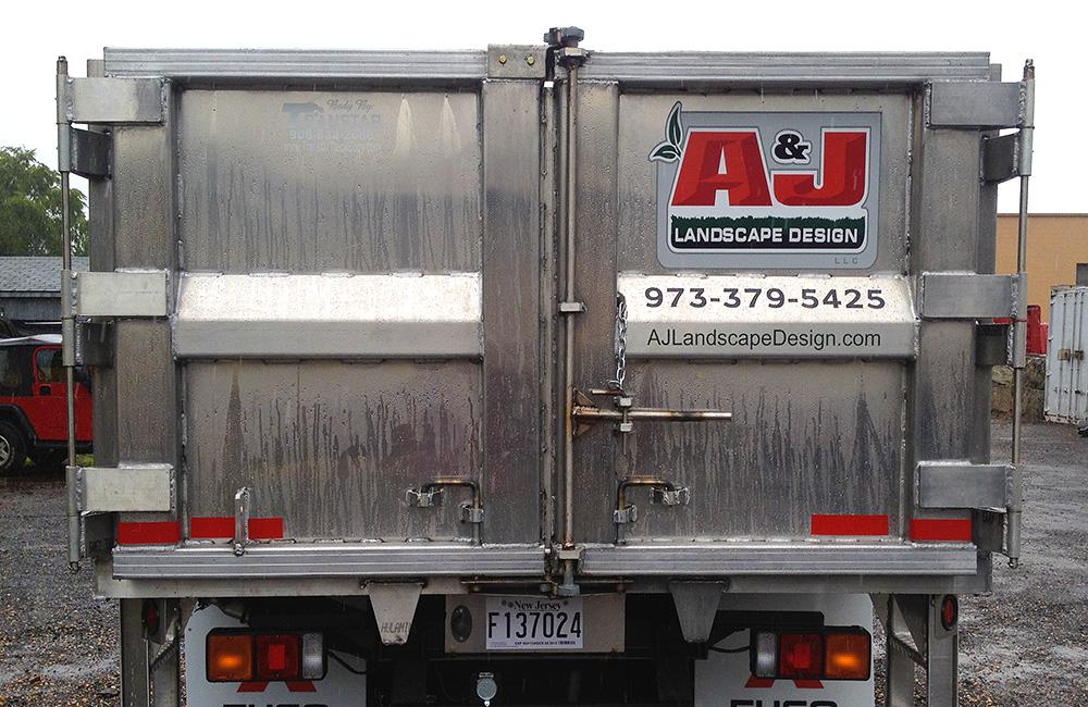 A & J Landscape Truck