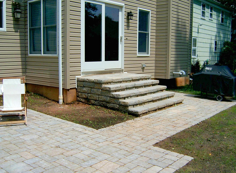 Photo Gallery Archive — Page 3 of 4 — A & J Landscape Design on Backyard Patio Steps id=35902